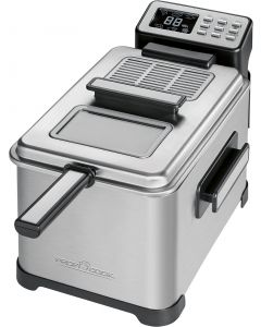 ProfiCook Fritteuse PC-FR 1088 schwarz/edelstahl