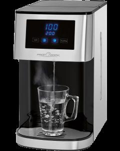 ProfiCook Heißwasserspender PC-HWS 1145 edelstahl/schwarz