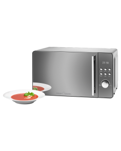 ProfiCook Mikrowelle mit Grill PC-MWG 1175 silber