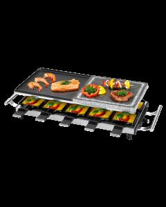 ProfiCook Raclette-Grill 2 in 1 PC-RG 1144 edelstahl