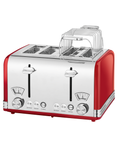 ProfiCook Toaster Vintage PC-TA 1194 rot
