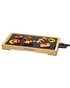 ProfiCook Teppanyaki-Grill PC-TYG 1143 holz/schwarz