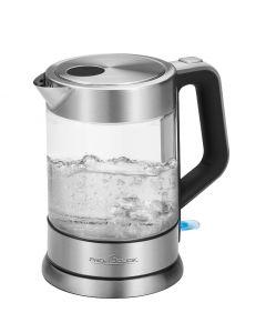 ProfiCook Glas-Wasserkocher PC-WKS 1107 G glas/edelstahl